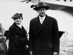 Leon Blum and his wife, 1936