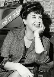 Actress Pat Phoenix.