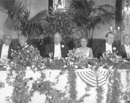 W.R.Hearst/ Bankett in Los Angeles/ Foto - W.R.Hearst /Banquet in Los Angeles/Photo - W.R.Hearst/Banquet/Los Angeles/Photo