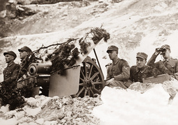 Mountain infantry at winter shooting, 1932