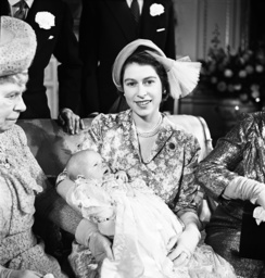 The Queen, Queen Mary and Princess Anne