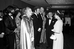 'Funny Lady' film premiere, London, Britain - Mar 1975