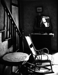 Haus eines Arbeiters/Mobiliar/USA/Foto - House of a Worker / Furniture/USA/ Evans -