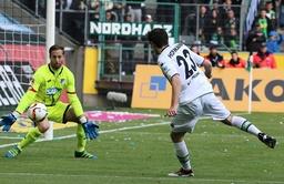 24 04 2016 Fussball Saison 2015 2016 1 Bundesliga 31 Spieltag Borussia Moenchengladbach TS