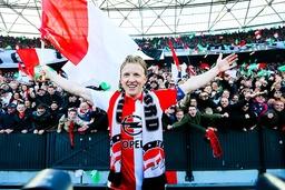 Bilder des Tages SPORT Dirk Kuyt of Feyenoord during the Dutch Cup Final match between Feyenoord a