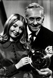 Singer Mary Hopkin And Television Presenter Hughie Green.