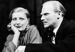Hilde Hildebrand and Erwin Klietsch in 'Hedda Gabbler', 1938