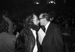 SDS action 1968 with Mahler and Teufel in Munich