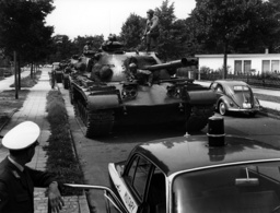 Routine exercise of US army in Berlin