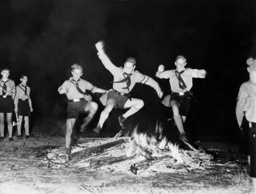 Solstice celebration of the Hitler Youth