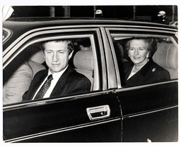 Prime Minister Margaret Thatcher Waves From Her Car As She Enters Buckingham Palace For The Last Time As Prime Minister To Tend Her Resignation To Queen Elizabeth Ii.