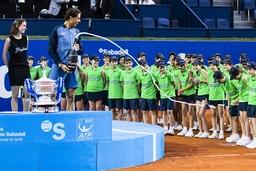 Themen der Woche Sport Bilder des Tages SPORT BARCELONA April 24 SPAIN Rafa Nadal victory ce