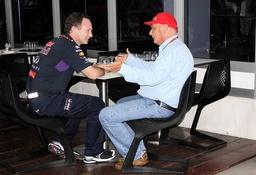 Christian Horner Teamchef Red Bull Racing Niki Lauda RTL Aufsichtsrat des Formel Mercedes F1 Tea