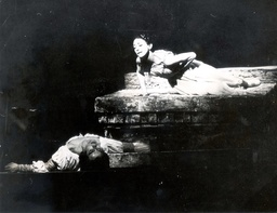 Dame Margot Fonteyn (1919-1991) And Rudolf Nureyev (1938-1993) In Romeo And Juliet First Produced For The Royal Ballet In The 1960s At The Royal Opera House Covent Garden.