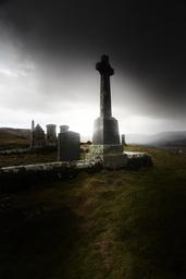 Hilltop graveyard