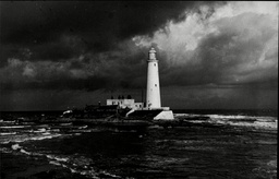 St Mary's Lighthouse Whitley Bay Northumberland.