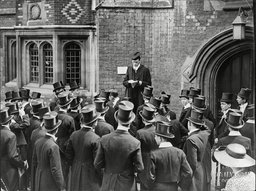 Absence Is Called For Eton Schoolboys During 4th June Celebrations - 1937. King George Iii's Birthday The 4th June Is Celebrated As A Special Event Which Nowadays Also Marks The Beginning Of The Summer Long Leave