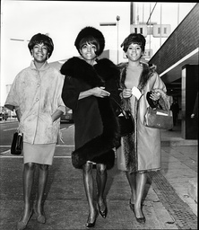 Diana Ross Florence Ballard And Mary Wilson Of Pop Group The Supremes 1965.