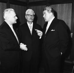 Wernher v. Braun u. Hermann Oberth, 196 - Wernher v. Braun & Hermann Oberth/1963 -