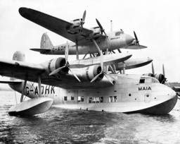 Short-Mayo S.20 'Maia'/ S.21 'Mercury' seaplane, 1937