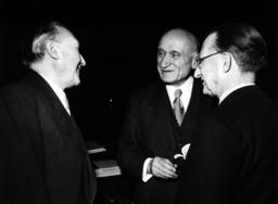 Adenauer in Strasbourg