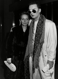 Singer Boy George And Mother Dinah O'dowd At Roof Gardens Party Kensington.