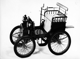 Renault's first produced car the Renault Voiturette