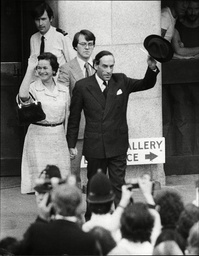 Not Guilty Jeremy Thorpe And His Three Co-defendants Were Cleared Of Conspiring To Murder Ex Male Model Norman Scott Described By The Judge As A Liar And A Crook. The Former Liberal Leader Was Also Cleared Of Inciting His Friend David Holmes To Murde
