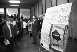 Sit-in at University of Cologne 1968