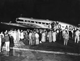 Focke Wulf Fw 200 'Condor' at Airport Tempelhof in Berlin, 1938