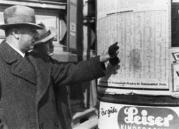 Volksabstimmung 10.4.1938/Wähler... - Referendum / 10.4.1938 / Voters... -