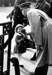 Third Reich - Adolf Hitler with child 1937