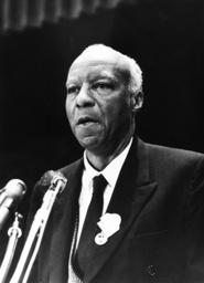 A.Philip Randolph / Foto 1963 - A.Philip Randolph / Photo / 1963 - Randolph, Asa Philip ; socialiste, activiste et militant des