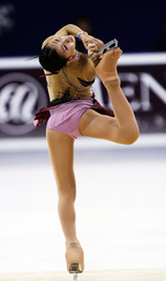 Murakami of Japan competes during the women's short program at the Cup of China ISU Grand Prix of Figure Skating in Shanghai