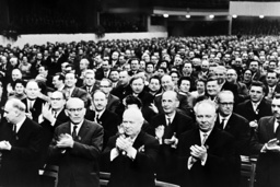 SED party conference in East Berlin 1963