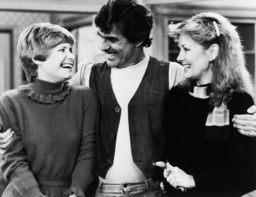ONE DAY AT A TIME, from left: Bonnie Franklin, Pat Harrington, Shelley Fabares in 'Not So Silent Par