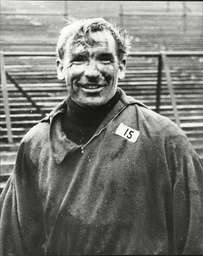 Footballer Bert Trautmann Manchester City Goalkeeper Bernhard Carl 'bert' Trautmann Obe (born 22 October 1923) Is A German Former Professional Footballer Who Played For Manchester City From 1949 To 1964. Brought Up During Times Of Inter-war Strife