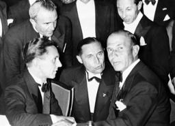 Joseph Goebbels and Dino Alfieri, 1936