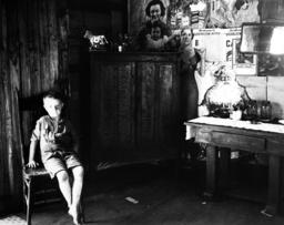 Bergarbeiter-Behausung/USA / Foto 1935. - Miner's Home / USA / Photo / 1935 -