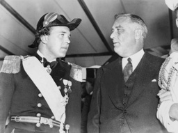 Prince Bertil of Sweden and Franklin Delano Roosevelt, 1938