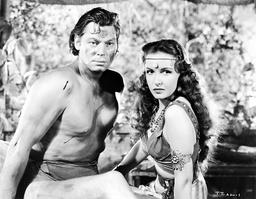 1943 - Tarzan Triumphs - Movie Set