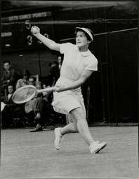 Peggy Scriven Tennis Player.