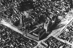 World War I - Belgium - Destroyed Ypern