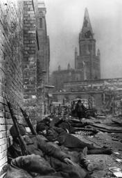 Königsberg/Kapitulation 1945/Sowjetsold. - Königsberg / Capitulation 1945 / Soviet -