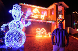 AUSTRALIA-CHRISTMAS-HOUSE LIGHTS