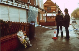SHOOTING OF TEENAGER BENJI STANLEY AT A TAKEAWAY SHOP, MOSS SIDE, MANCHESTER, BRITAIN - JAN 1993