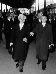 Adenauer and Thors in Bonn