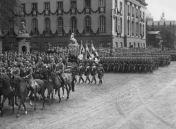 Armed forces parade for Adolf Hitler's birthday, 1938
