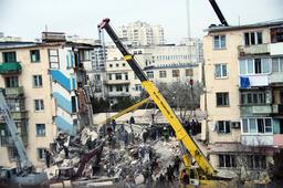 UKRAINE-BLAST-RESCUE WORK