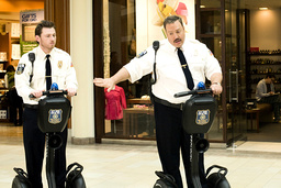 PAUL BLART: MALL COP, from left: Keir O'Donnell, Kevin James, 2009. ©Sony Pictures/courtesy Everett